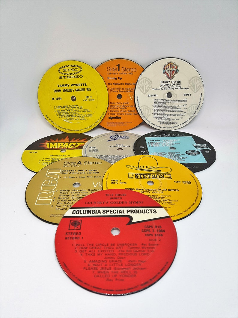 Country Music Coasters  Buy 4, get 2 additional coasters FREE!