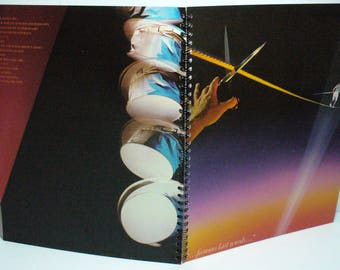 Supertramp ...Famous Last Words... Record sleeve notebook
