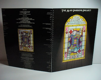 The Alan Parsons Project The Turn of a Friendly Card Record sleeve notebook