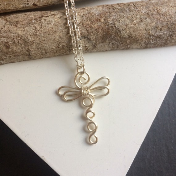Christmas gift for her chunky aluminium wire jewelry Silver coils statement necklace