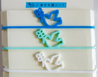 3 elastic bands COLOMBE - Midori