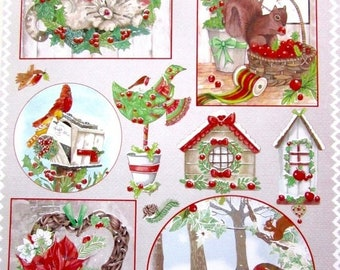 HAPPY A4 collage sheet - Christmas 2 landscape