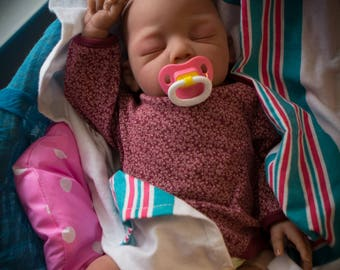 Reborn baby girl or boy | OOAK Hand Painted Doll | Made to order