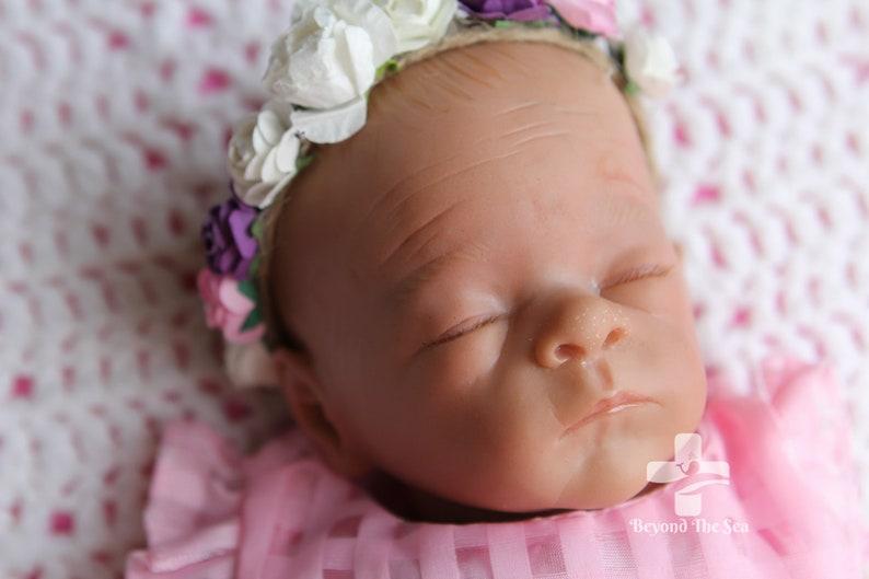 Bonnie Baby Baby-Girls Newborn Pink Dot Crystal Pleat