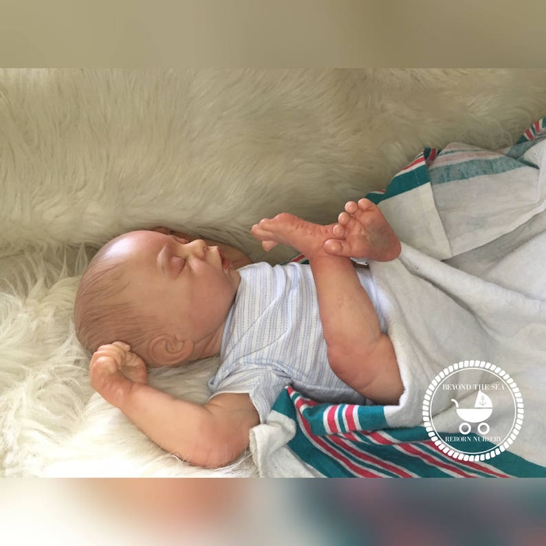 made to order Hand Painted Doll Reborn Baby Boy or Girl Opened Mouth