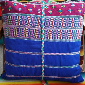 Unique One of a kind and made with love Karen pillowcase Boho pillow Traditional Karen Woven Dress Up cycled