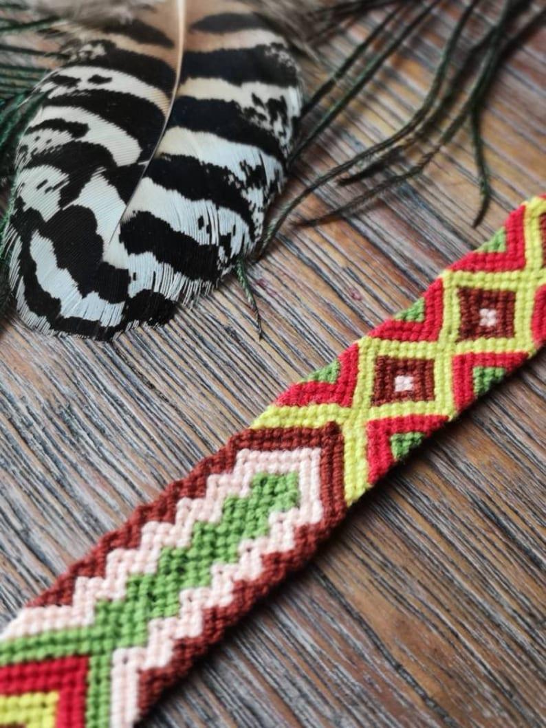 Friendship bracelet Friendship band Festival band Boho Bracelet Wayuu Banf