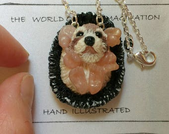 polymer clay hedgehog pendant . hedgehog jewelery.cute animal.Buy Directly From Artist.fair trade.handmade.TWOPI1DB