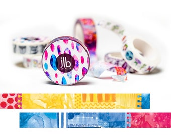 jlbCREATIVE WASHI TAPE - RBY Primary