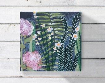 Tot Painting-Zebra Plant
