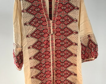 Vintage Afghan Kaftan Cotton