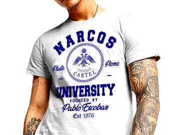 New kingpin T-Shirt Mexico Sinaloa Cocaine King Sicario weed cotton tee