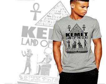 Warface Apparel Egyptian T-Shirt Ancient Egypt Kemet Falcon Immortal