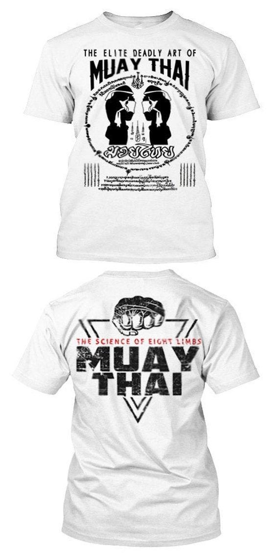 Thai Boxing T-shirt Muay Thai Combat Yak Sant Diety