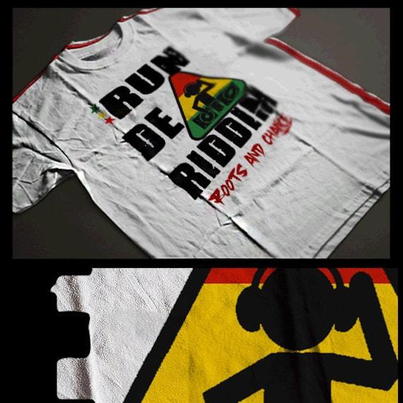 Reggae T-Shirt Jah Rastafari Haile Selassie I African Roots Jamaican Dread Sensi