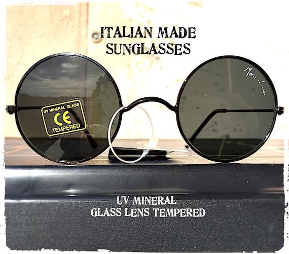 vetro sole lente Etsy fumo vintage da tondi bronzo Occhiali metallo n65qv01nx