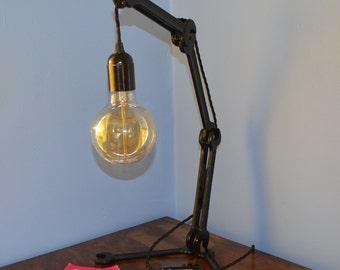 Vintage Spanner Desk/Table Lamp