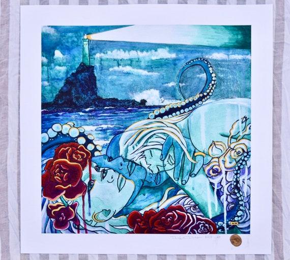 La Vidacita: Into the Mystic - Giclee Print