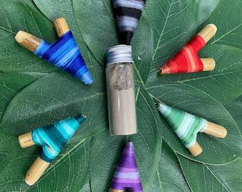 Bamboo Kuripe Applicator