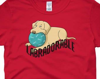 Labradorable Shirt, I Love My Labrador Shirt, I Love My Dog Shirt, Cute Dog Shirt, Puppy Shirt, Labrador T Shirt, Dog T Shirt, Pet Shirt