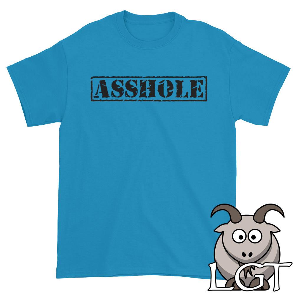 11abda0110e Asshole Shirt Offensive Shirt Cussing Shirt Sarcastic