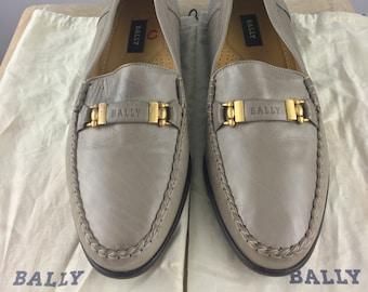 4823a5d2a9362 Vintage 1980's Bally Men's Shoes|Tan Loafers|Tan Slip-Ons|Tan Casual  Shoe|Tan Smart Dress Shoes|Work Shoes|Church Shoes|Size 11.5 D