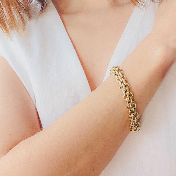CHRISTIAN DIOR Bracelet Vintage 1980s - image 1