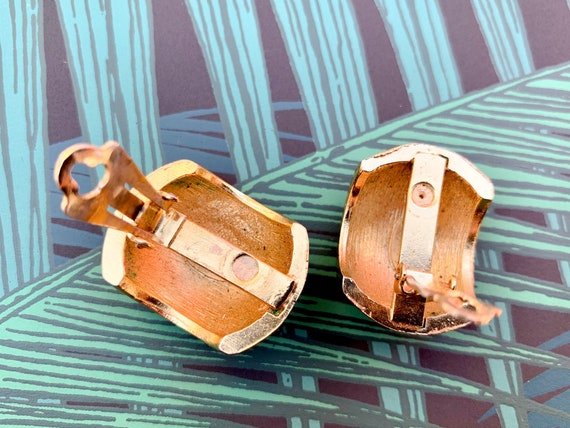 Lanvin 1970s Vintage Statement Clip on Earrings - image 8