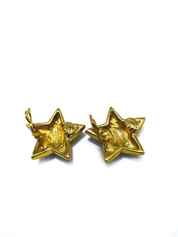 VALENTINO Earrings Vintage 1990s - image 4