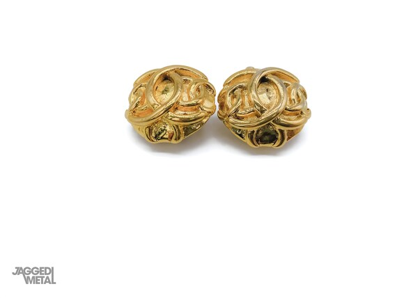Chanel Earrings Vintage 1980s - image 6