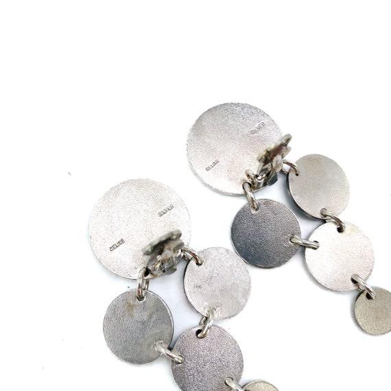 CELINE Earrings Vintage 1990s - image 3