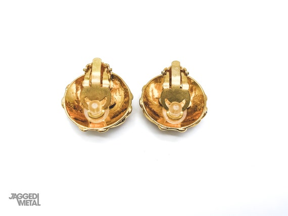 Chanel Earrings Vintage 1980s - image 3
