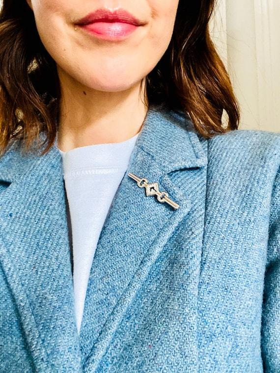 Givenchy 1970s Vintage Brooch Pin