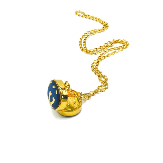 Gucci 1970s Vintage Pill Box Necklace - image 8
