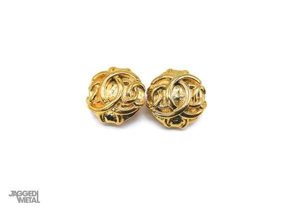 Chanel Earrings Vintage 1980s - image 1