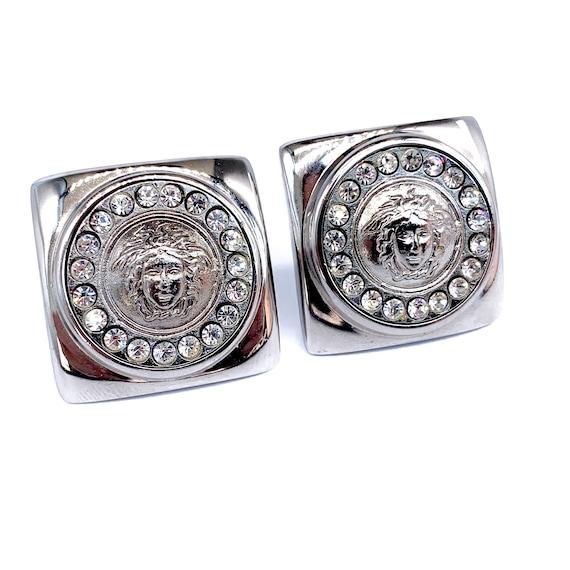 GIANNI VERSACE Earrings Vintage 1990s