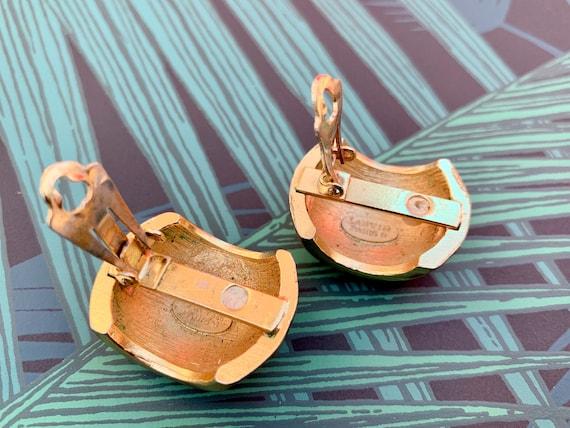 Lanvin 1970s Vintage Statement Clip on Earrings - image 6