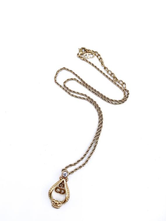 Dior Necklace Vintage 1980s Christian Dior