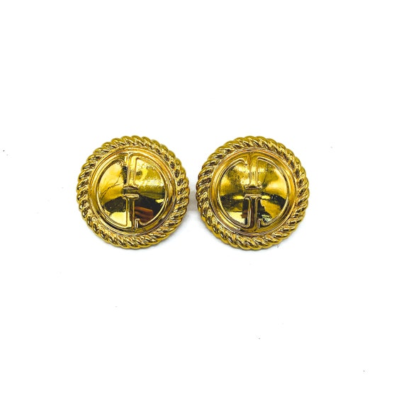 GUCCI Vintage 1990s Clip On Earrings