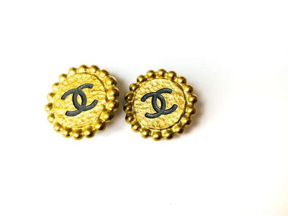 Chanel Earrings Vintage 1990s
