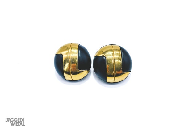 Lanvin Earrings 1960s Runway Clip On 1968 Collecti