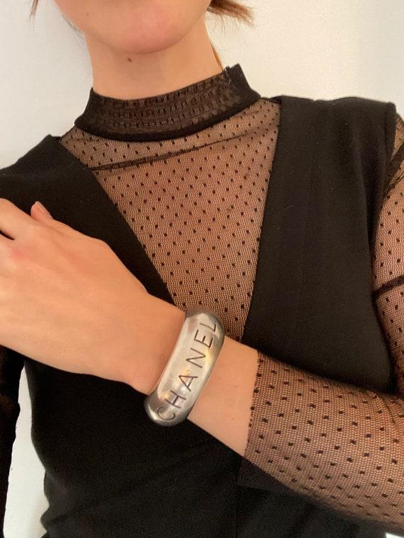 Chanel Bracelet Vintage 1990s Bangle