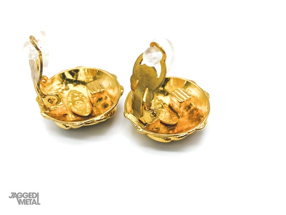 Chanel Earrings Vintage 1980s - image 4