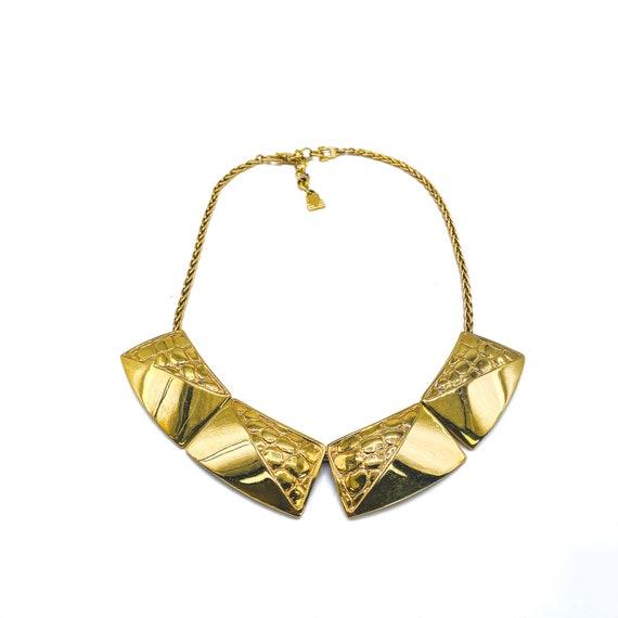 LANVIN Vintage 1980s Choker Necklace
