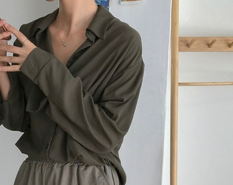 loose fitting tops for women  tunics for women  long sleeve top  loose fit top  overfit tops  over fit blouse  loose top