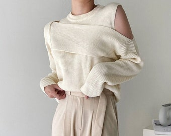 Sweaters for women / knits for women / knit top / Wrap top / Kimono top / gift for her / wool sweater / wool knit / tops for women