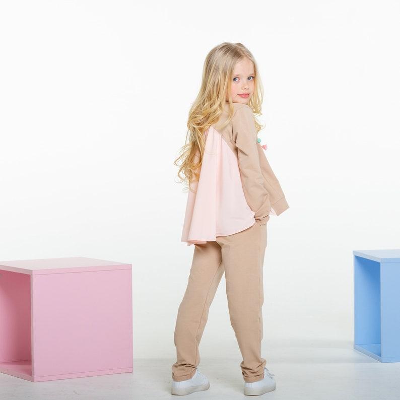 wholesale dealer a5276 71e17 Beige sweatsuit toddler girl sweatsuit toddler sweatsuit   Etsy