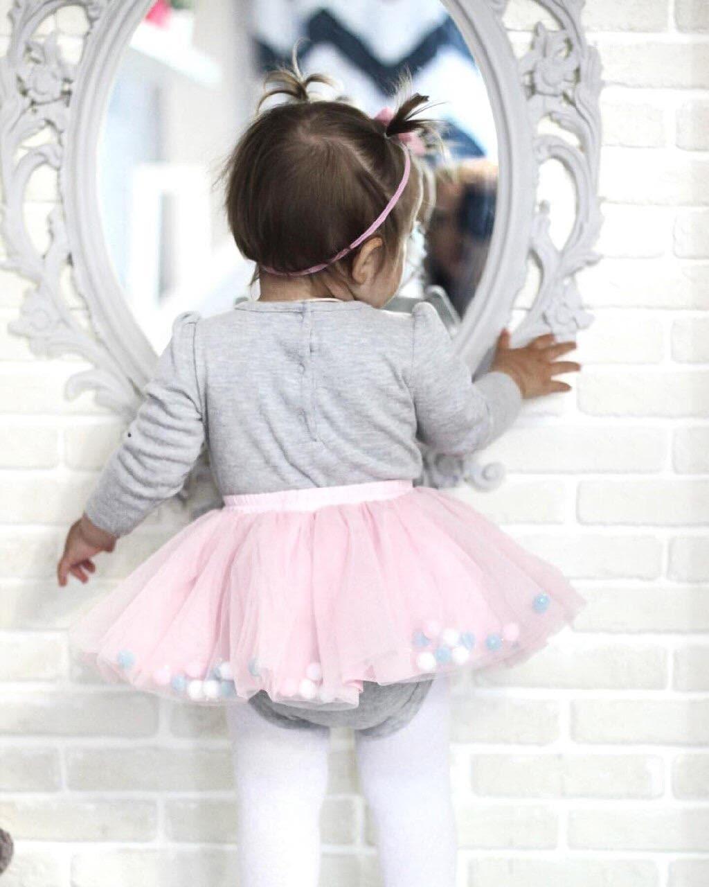 4a6f8c5670fc Pastel pink tutus for babies pink flower girl tutu 1st   Etsy