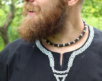 Male tunic Black Veleyar