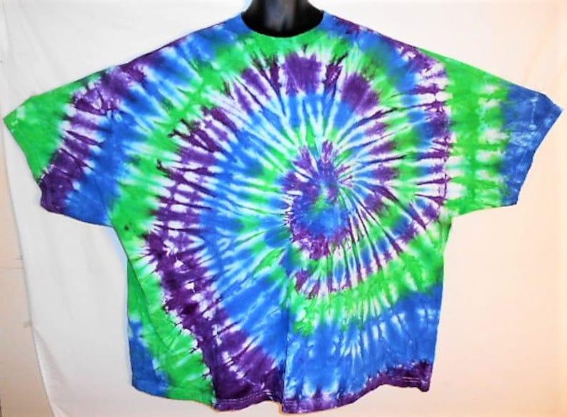 Trippy Tie Dye Plus Size Shirts 5x Tie Dye Psychedelic Etsy